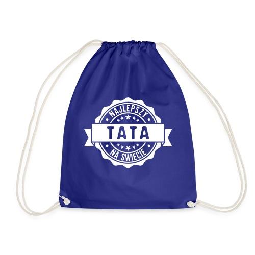 Najlepszy Tata na świecie pieczęć stempel - Worek gimnastyczny
