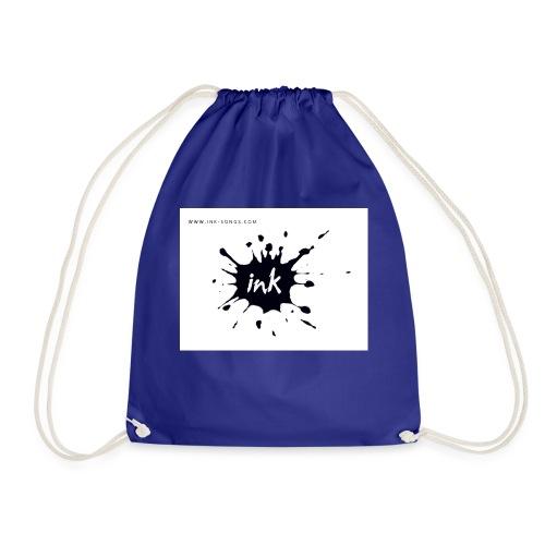 Ink Logo and website - Drawstring Bag