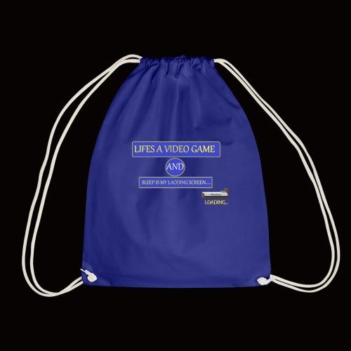 video sleep - Drawstring Bag