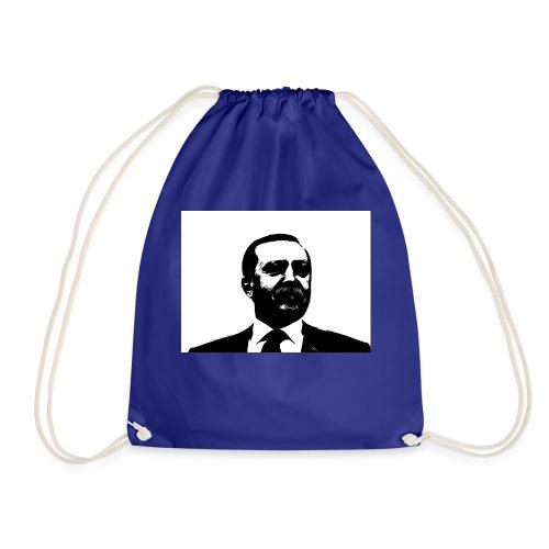 President Erdogan of Turkey - Drawstring Bag