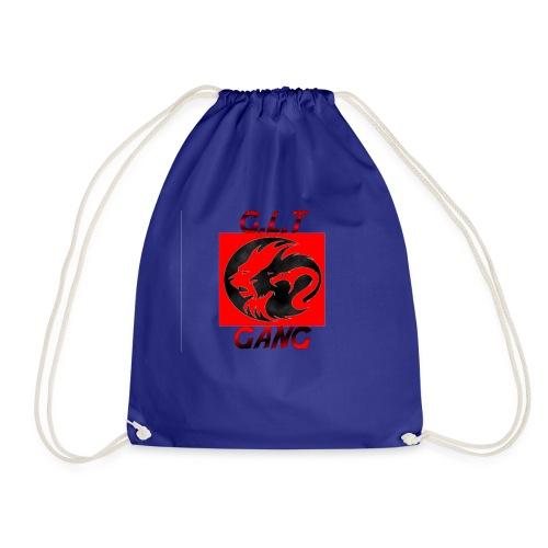 G.L.T Gang Logo on hat - Drawstring Bag