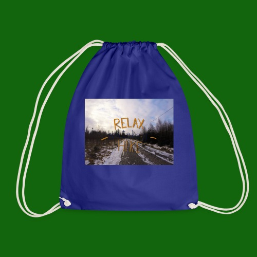 Relax and take a hike - Drawstring Bag