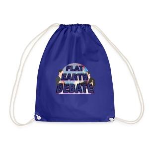Flat Earth Debate - Drawstring Bag