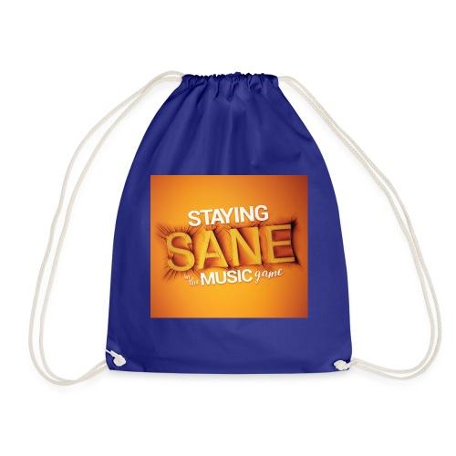 Staying Sane In The Music Game Design - Drawstring Bag