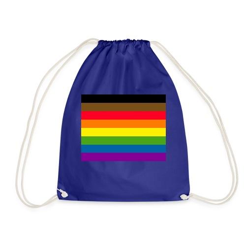 Philadelphia Gay Pride Flag - Drawstring Bag