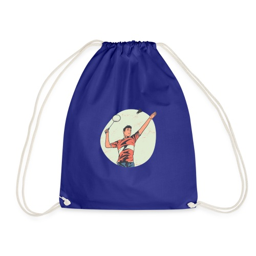 Badminton tshirt PR hoodie - Turnbeutel