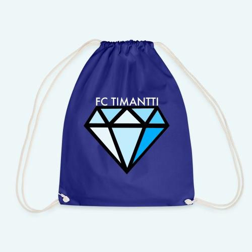 FCTimantti logo valkteksti futura - Jumppakassi
