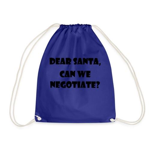 Dear Santa can we negotiaten - Gymnastikpåse