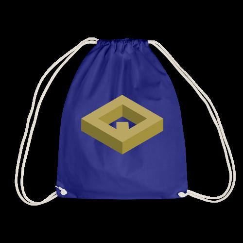 White Drawstring Bag v1 - Sacca sportiva
