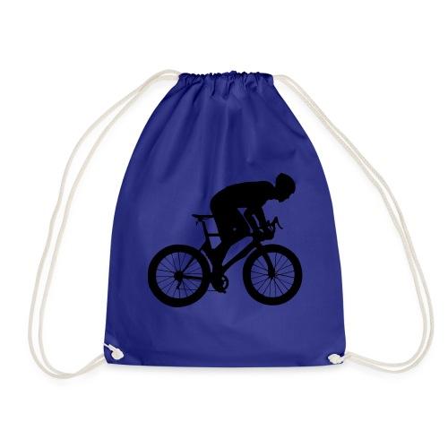 Fahrradfahrer - Turnbeutel