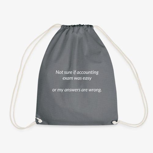 Easy Exam - Drawstring Bag