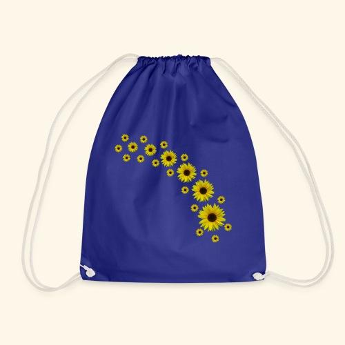 Sonnenblumen, Sonnenblume, Blumen - Turnbeutel