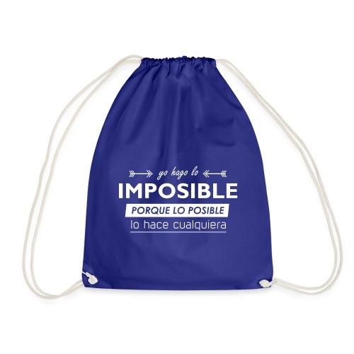 Lo imposible - Mochila saco