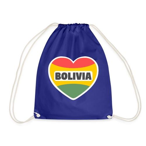 Bolivia en mi corazón tricolor - Mochila saco
