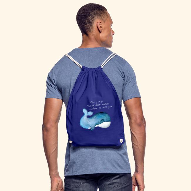 Whale deep waters