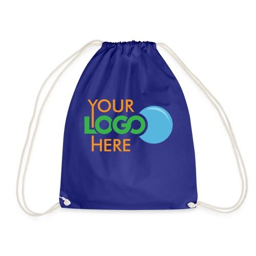 Your Logo Here - Drawstring Bag
