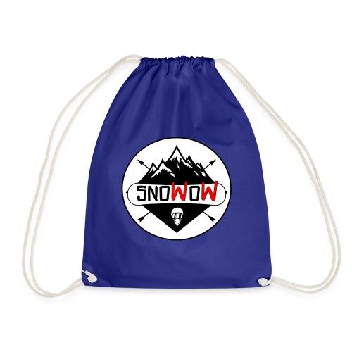 Logo snowow - Mochila saco