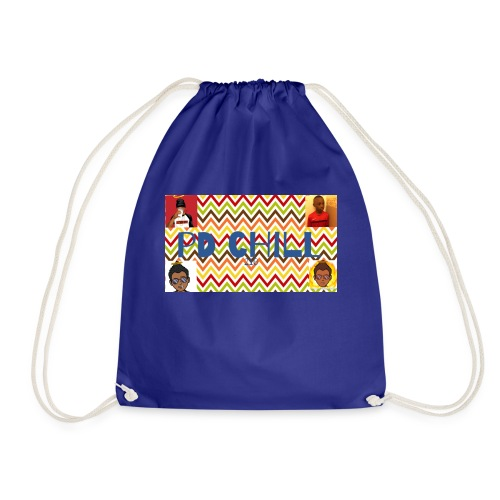Zig Zag - Drawstring Bag