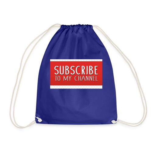 sub to galactic madman - Drawstring Bag