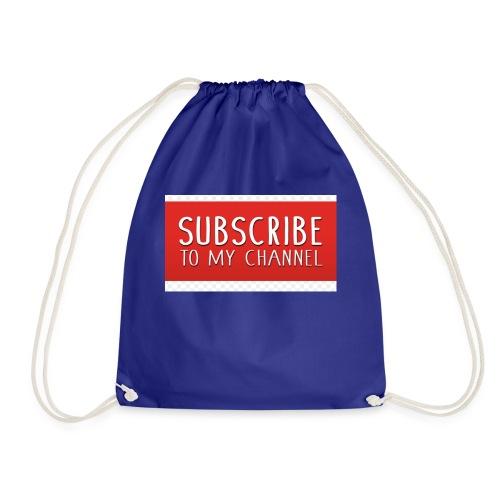 sub to galactic madman - Drawstring Bag
