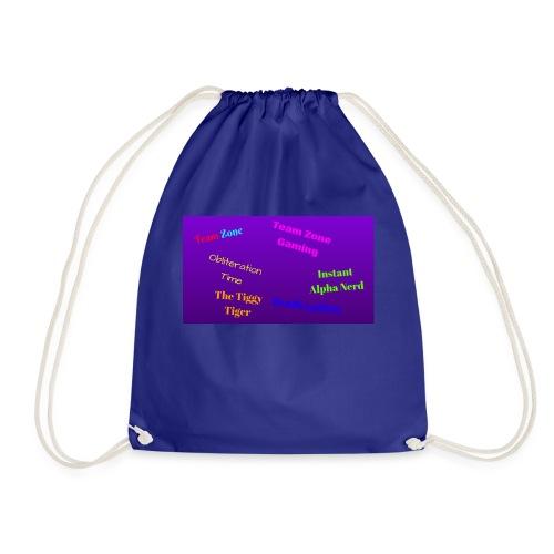 Team Zone Crew - Drawstring Bag