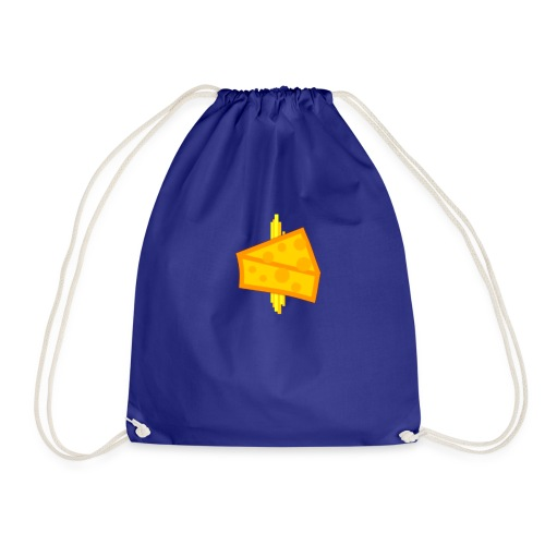 Cheesy Design - Drawstring Bag