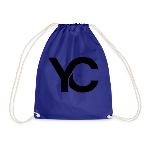 YC Black Logo - Drawstring Bag