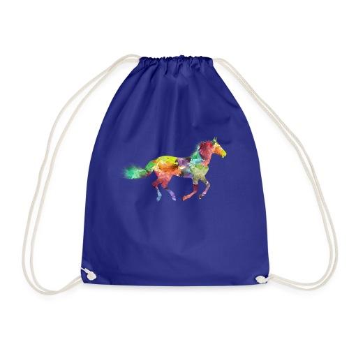 Rainbow Pferd - Turnbeutel