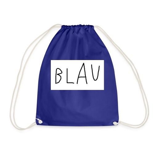 Blau - Turnbeutel