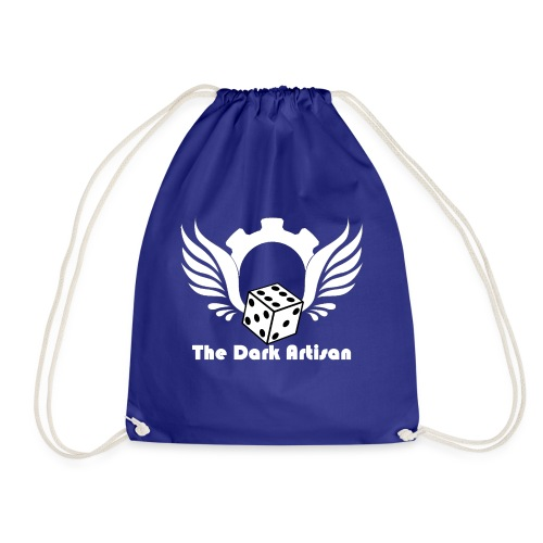 Artisan white logo - Drawstring Bag