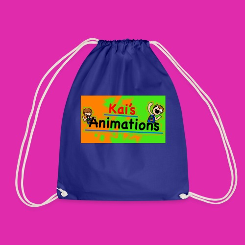 kai's animations logo - Drawstring Bag