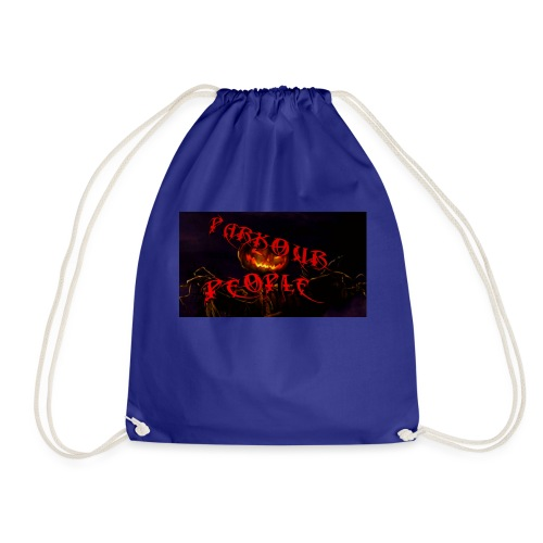 Parkour people spooky clothing - Drawstring Bag
