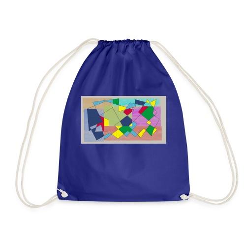 Abstract #1 - Drawstring Bag