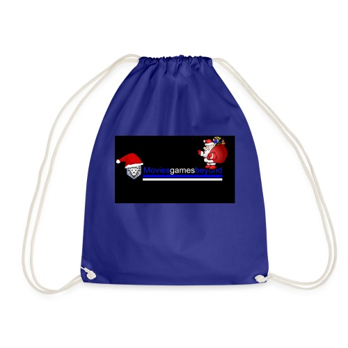 Christmas with us - Drawstring Bag