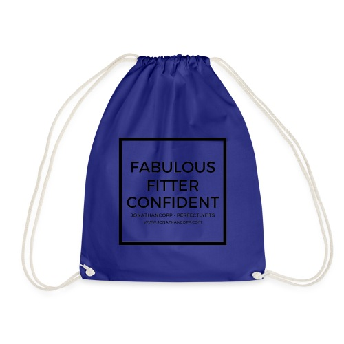 Fabulous Fitter Confident #1 - Drawstring Bag
