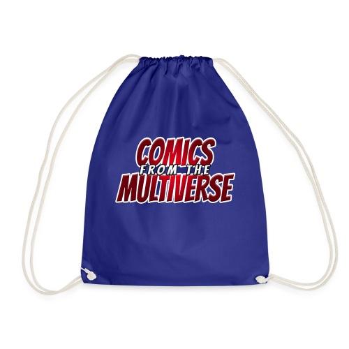 Comics From The Multiverse Logo Cap - Drawstring Bag