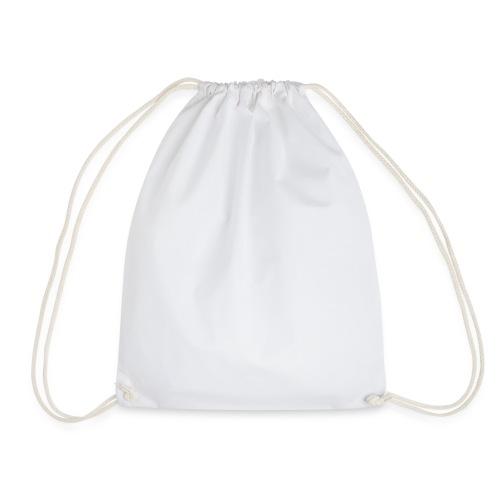 Life Begins bianco - Drawstring Bag