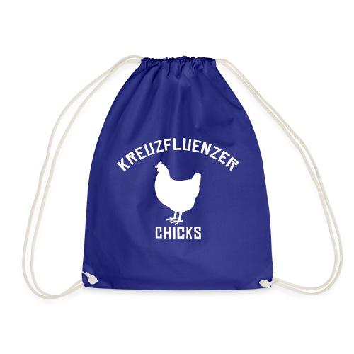 Kreuzfluenzer Chicks WHITE - Turnbeutel