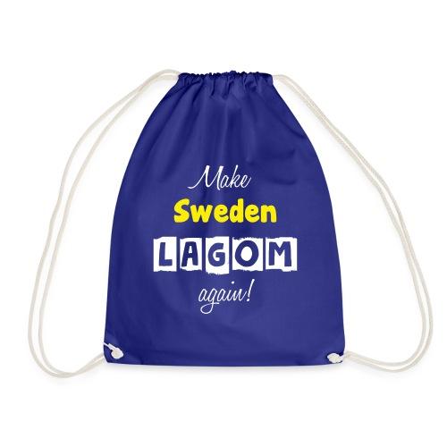 Make Sweden LAGOM again! - Gymnastikpåse