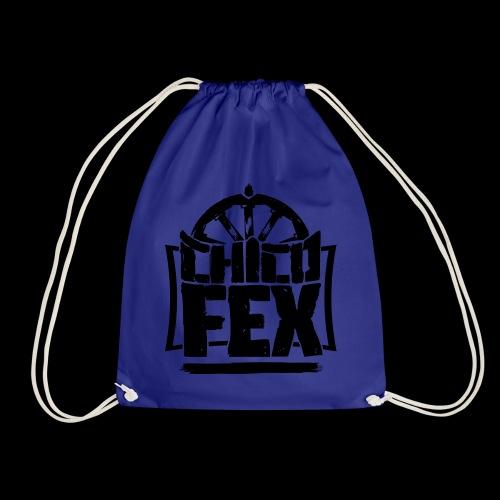 chicofex logo schwarz4000px ai - Turnbeutel