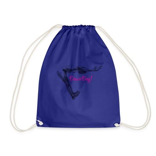 Down Dog Yoga - Drawstring Bag