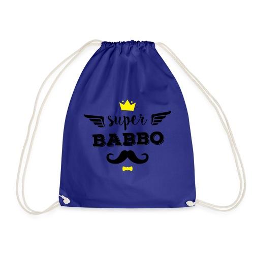 Super Babbo - Sacca sportiva