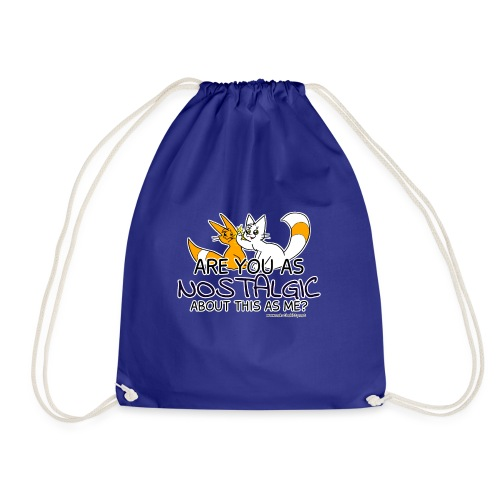 Nostalgia Hurts - Drawstring Bag