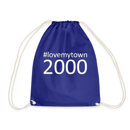 lovemytown2000wit - Gymtas