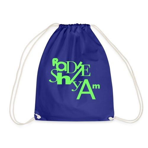 Blu Lines - Drawstring Bag