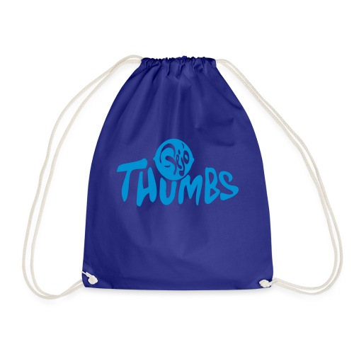 pejo thumbs logo - Drawstring Bag