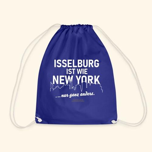 Isselburg 👍 ist wie New York 😁 - Turnbeutel