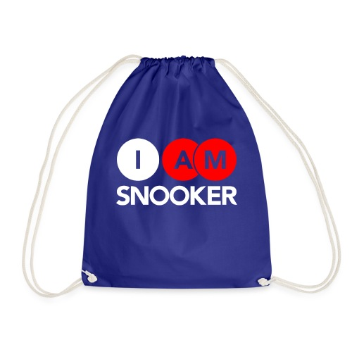 I AM SNOOKER - Drawstring Bag