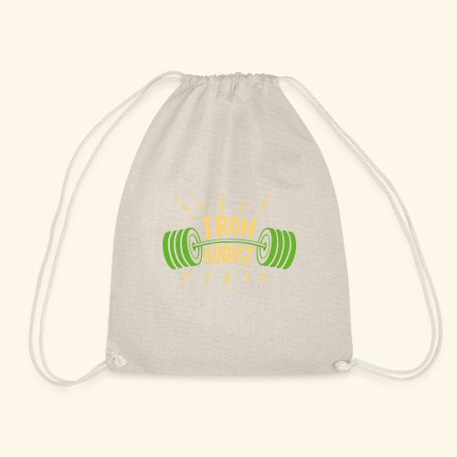Langhantel Iron Addict Gym Shirt - Turnbeutel