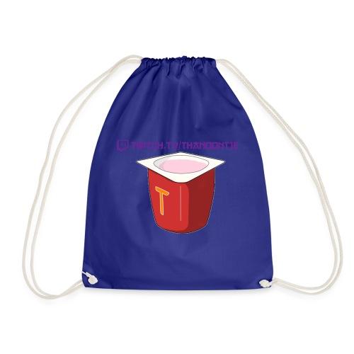 Thanoontje logo backside female - Drawstring Bag